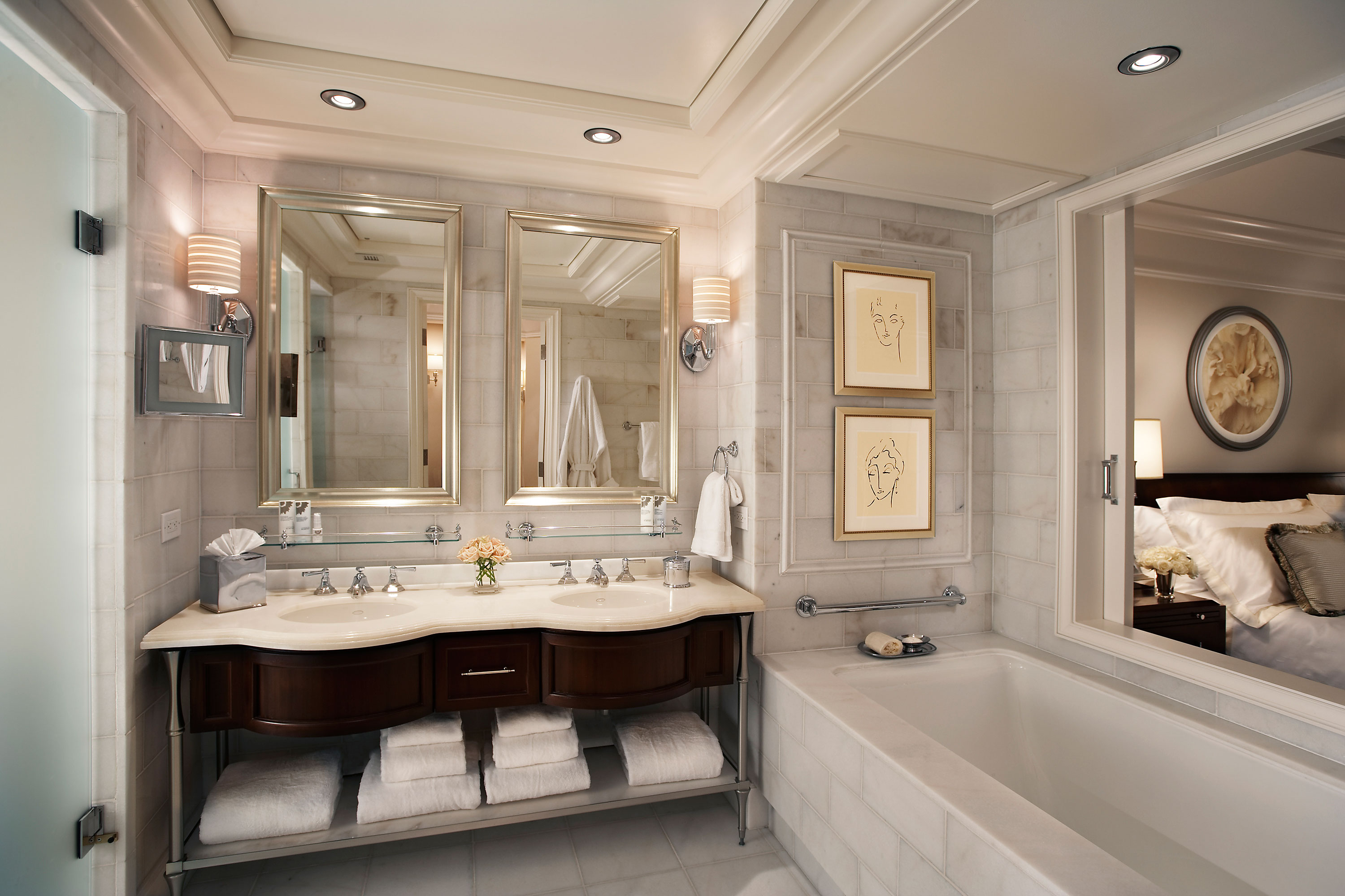 Marble Bathroom Ideas To Create A Luxurious Scheme: Edge Treatments And Profiles