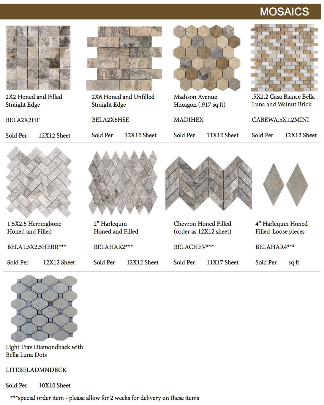 Bella-Luna-Travertine-Mosaics