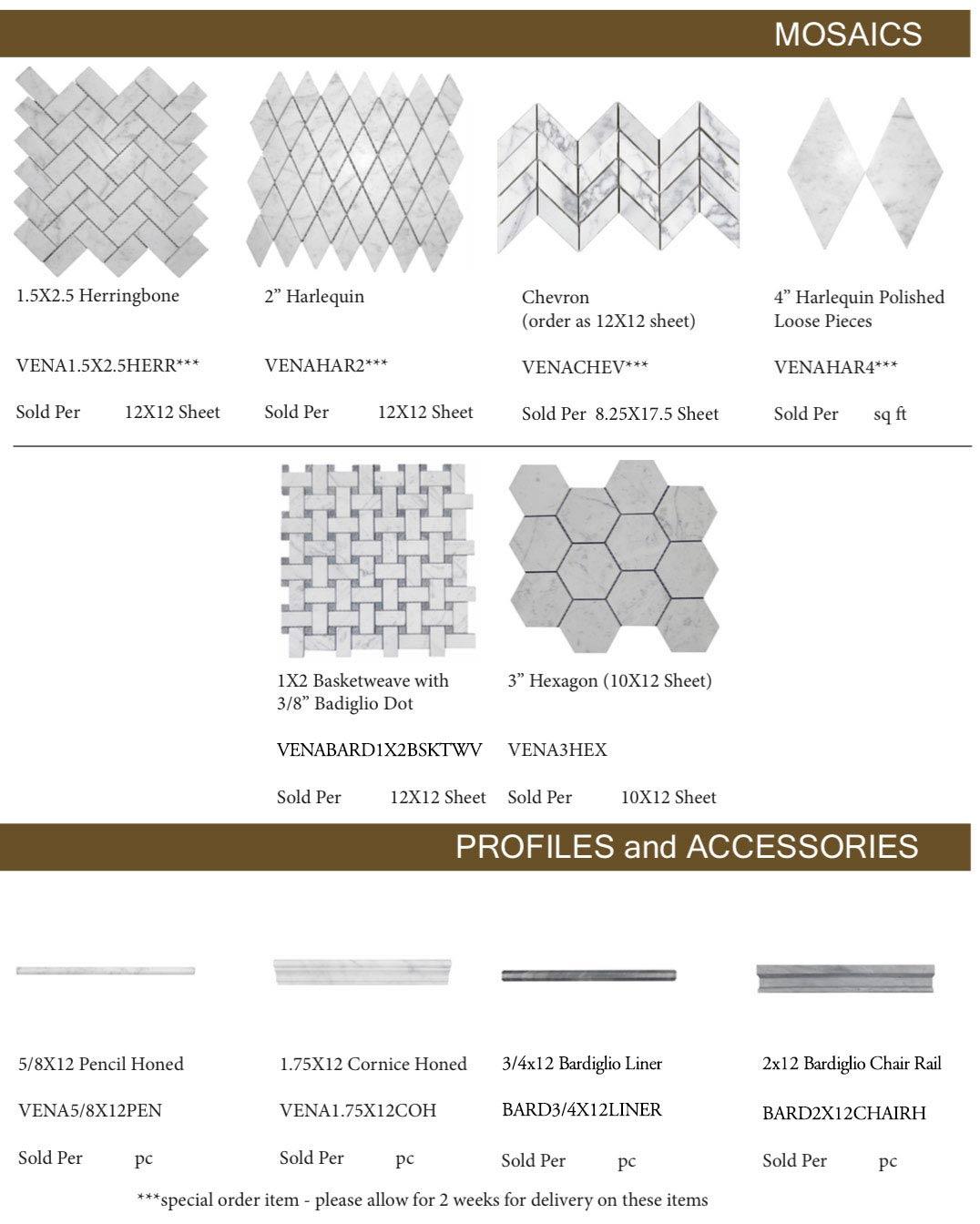 Vena-Purezza-Marble-Mosaics-Profiles-and-Accessories