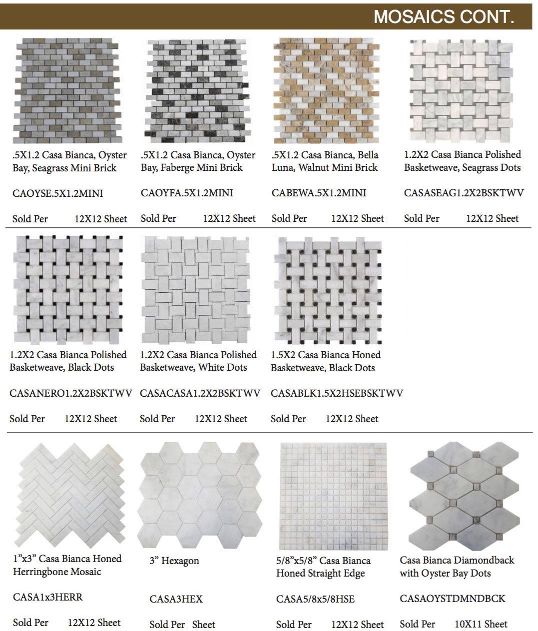 Casa-Bianca-Marble-Mosaics-Continued
