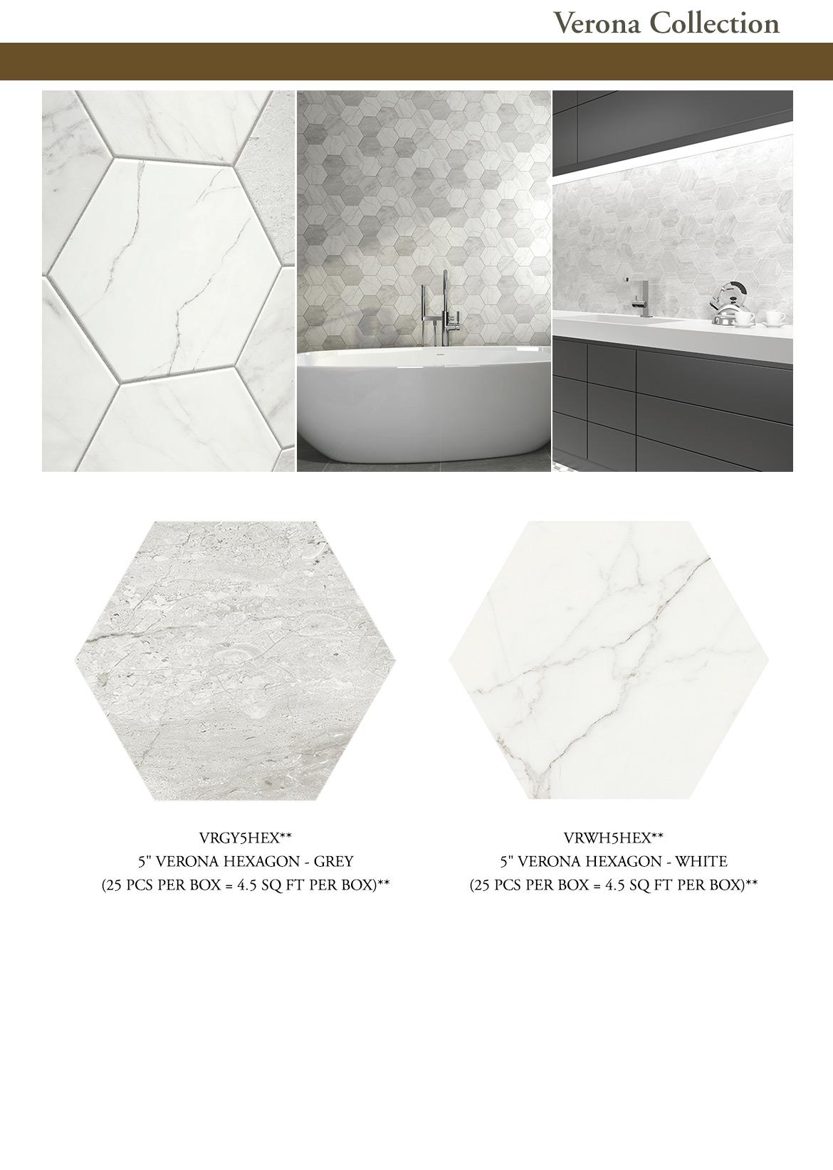 Fantastic Verona Hex Speartek Tile Uwap Interior Chair Design Uwaporg
